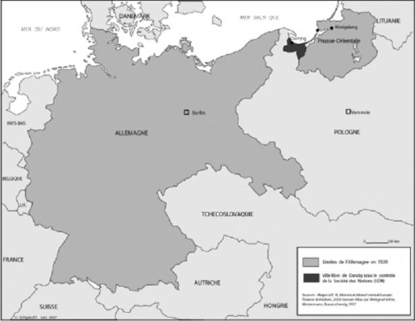 L'étincelle qui enflama l'Europe et bientôt le monde : Le couloir de Dantzig