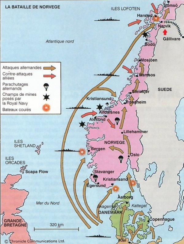 11 Campagne en Norvège septentrionale