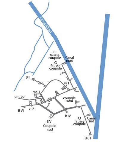 2- Le fort d'Eben-Emael