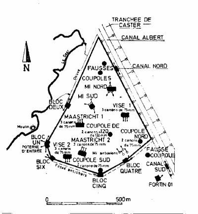 3- Structure du fort.
