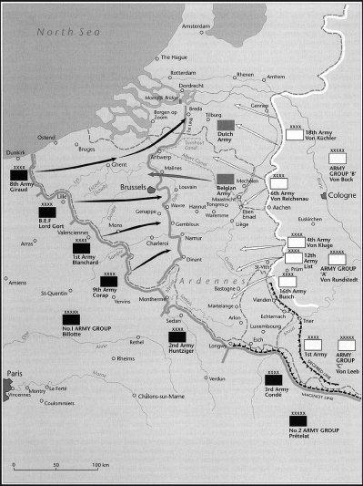 9- La campagne des 18 jours : de tous les peuples de l'ouest les belges sont les plus braves.