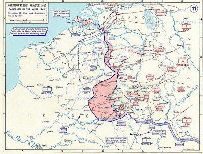 10- Les panzers passent la Meuse : les jeux sont fait ..... Echec et Math.....