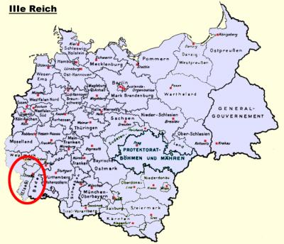 La question Alsace - Lorraine et leur annexions.