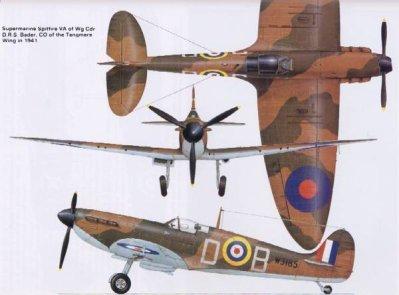 1- Le Supermarine Spitfire Mk 1 .
