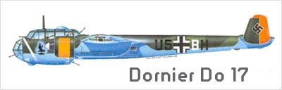 10- Le Dornier Do 17 .