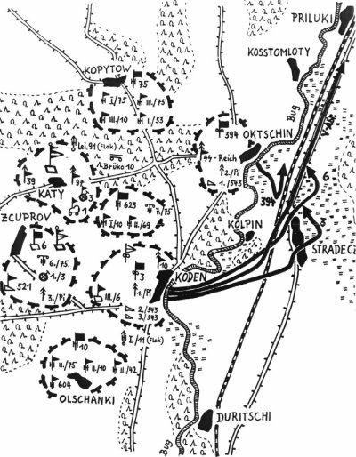 15- La 1er opération de la guerre à l'Est , le pont de Koden 22 juin 1941, 4h10 au matin quelques minutes avant Barbarossa