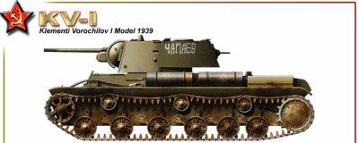 - Le char lourd KV-1 le cauchmard des Panzers.