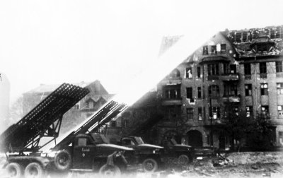 38 - Le redoutable Katioucha la désagréable surprise aux forces allemandes.