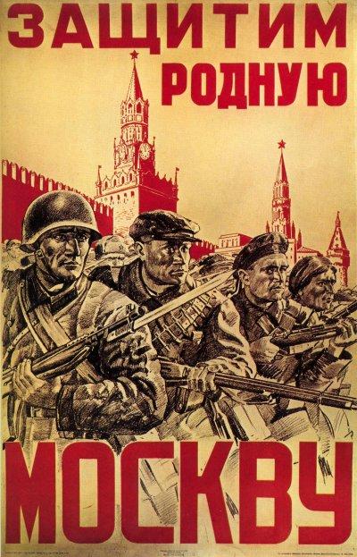 51 - La contre - offensive Soviétique sous Moscou 5 décembre 1941 au 7 mai 1942.
