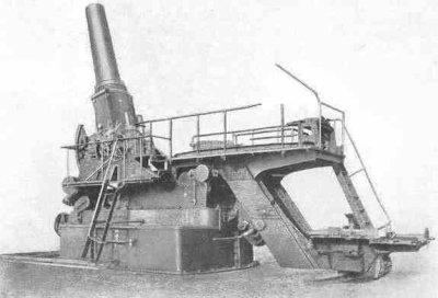 62 - Le mortier lourd Skoda ou Gamma de 420 et 427 mm .
