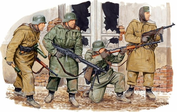 125 - Le Crépuscule des Dieux 2 - Les Force Hitlériennes devand leurs Juges avant l'opération Berlin, 400.000 hommes au Bord de l'Abîme .