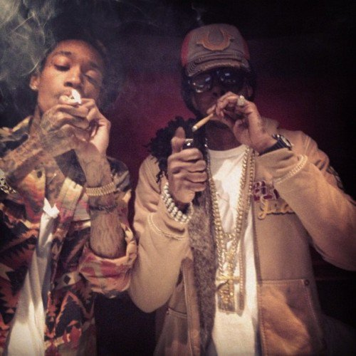 DJ BUNNY Ft. 2 Chainz & Wiz Khalifa - We Own It (2013)