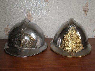 casque de 1926 et casque de 1933 de strasbourg