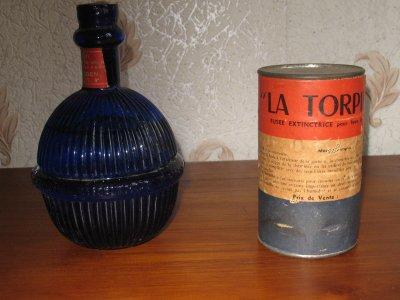 grenade extinctrice 1870 bleu et fusée extinctrice pour feu de cheminée année ?