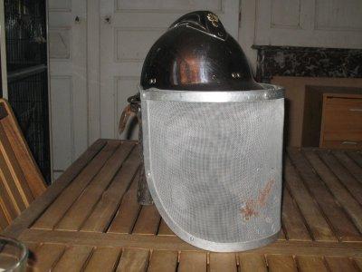casque modele 33 avec pare feu vidal