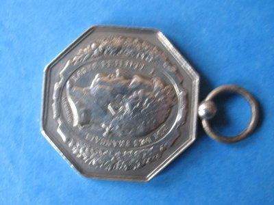 medaille louis philippe 1 (le phenix compagnie francaise 1844 ) ??? recto