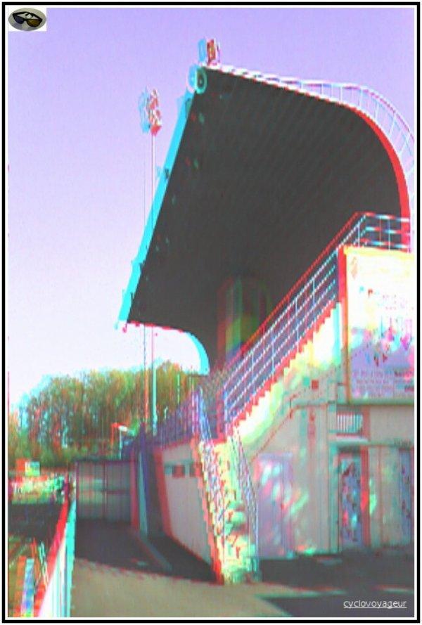 Joué Les Tours , 37 - Le Stade Jean Bouin - Photo 3D