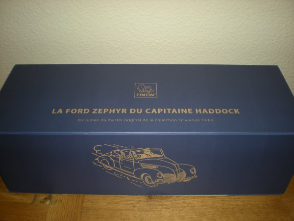 ** ford lincoln zephyr du capitaine Haddock ...