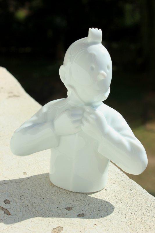 Tintin en porcelaine..