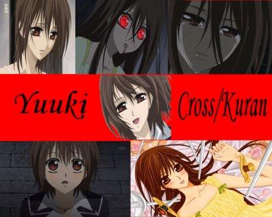 moimamariri____________________<3Vampire Knight :Yuuki Cross/Kuran <3