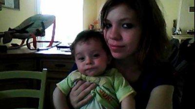 Moi avec mon fils <3