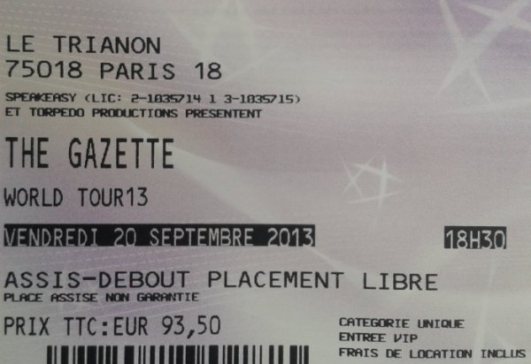 MES PLACES VIP !!!!!!!!!!!!!!!!!!!!!!!!! *^*