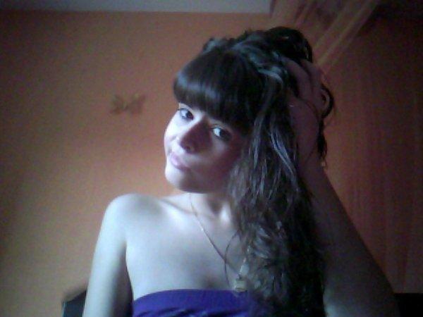 # Moi frange coupé cheveux naturel !!