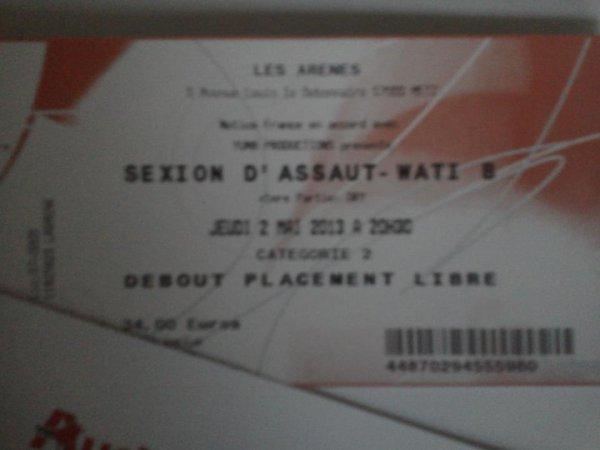 mon billet