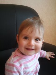 voici les photo de ma niece capucine
