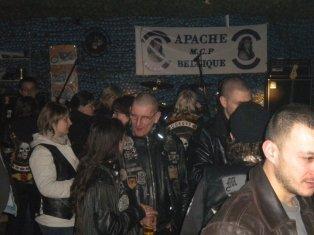 LOCAL APACHE OUVERT TOUS LES VENDREDIS A 20H00.