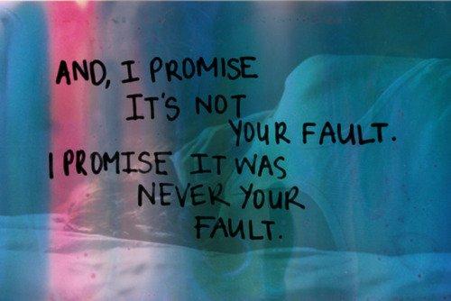 Ce n'est pas votre faute vous savez, c'est juste que je change de mon côté...