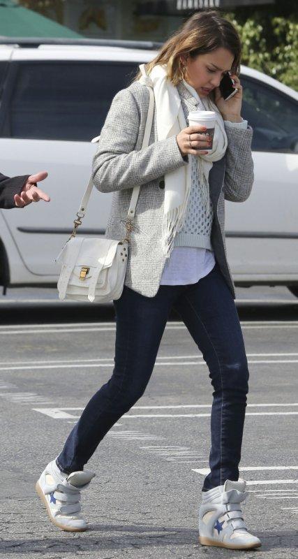 Jessica Alba , fevrier 2013