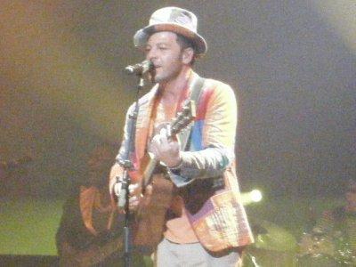 Concert Christophe Maé 12/12/2010 avec Laurie