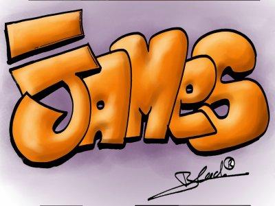 Premier tag fait pour James JJ