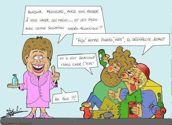 Roseline Bachelot grippe A