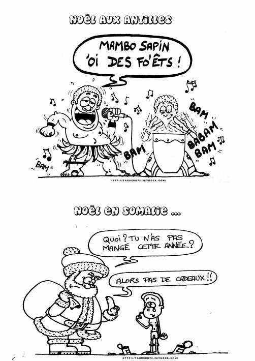 Bande dessinée spéciale NOEL !!