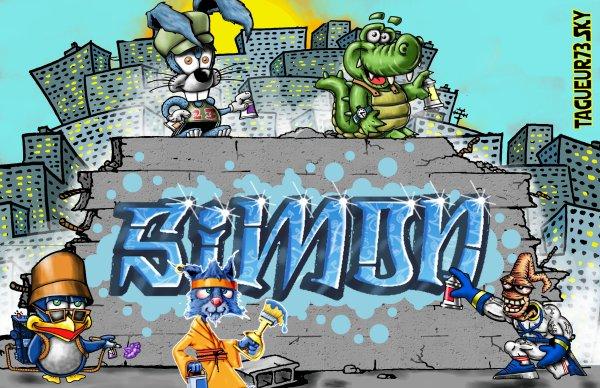 Les graffitis de Max alias Tagueur73