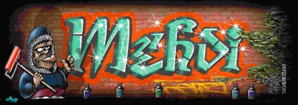 Tag pr nom graffiti mehdi elsa christelle bienvenue - Prenom en tag ...