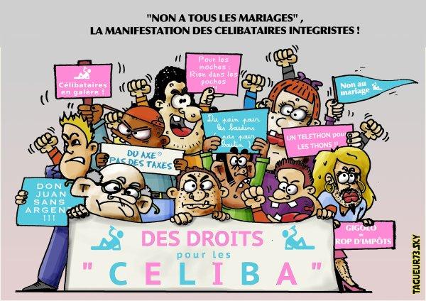Manifestation des célibataires intégristes !