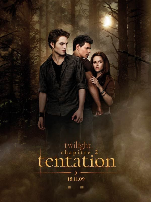 N°3 - Twilight chapitre 2 : Tentation - New Moon - Par Chris Weitz  France : 4 198 600 entrées - USA : 295 659 082 $ de recette.