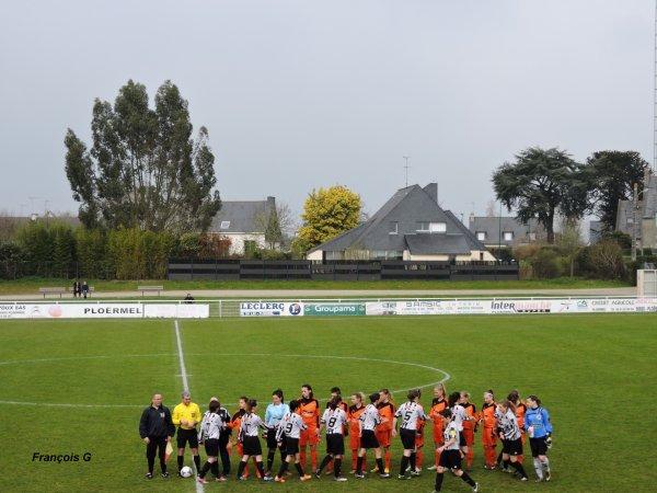Match DH féminine Ploermel - FCELLE  0-4