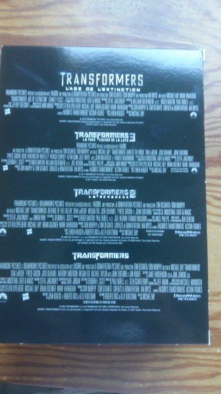 Achat du jour ! coffret dvd integral #transformers