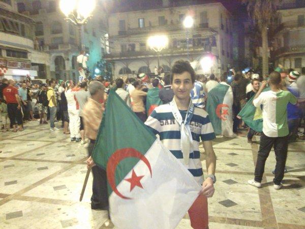 l'Algérie en 2ème tour #CDM2014