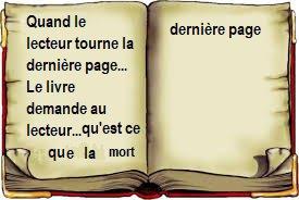 Fin du livre....dernière page