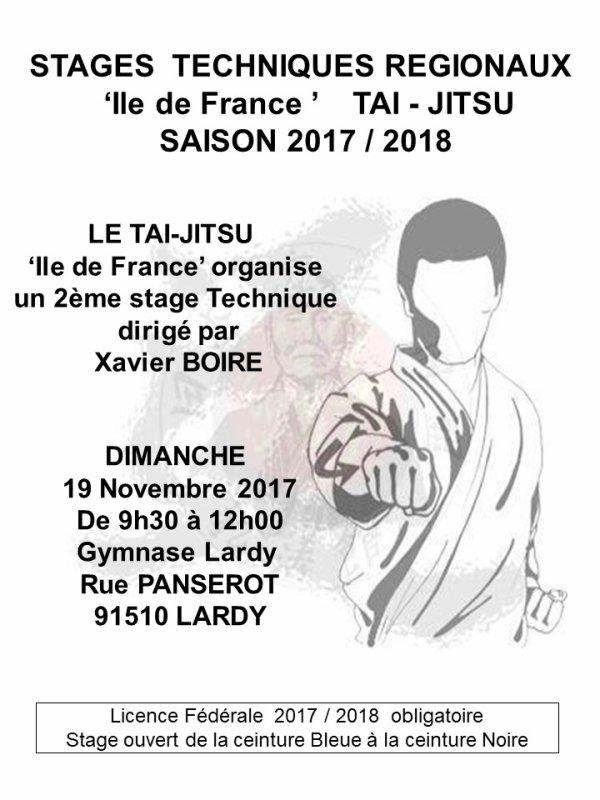 2ème Stage Technique 'T-J' Ile de France