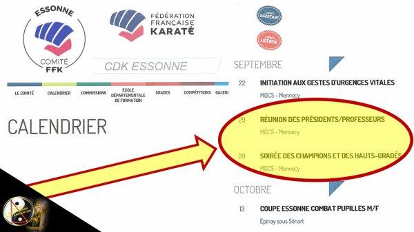 REUNION DIRIGEANTS & SOIREE DES CHAMPIONS au 'CDEK'