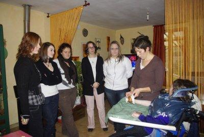 Visite des BEPA service aux personnes de Coulans sur Gée