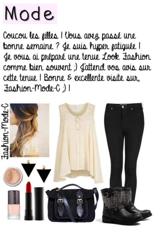 Tenue Look Fashion 10 !