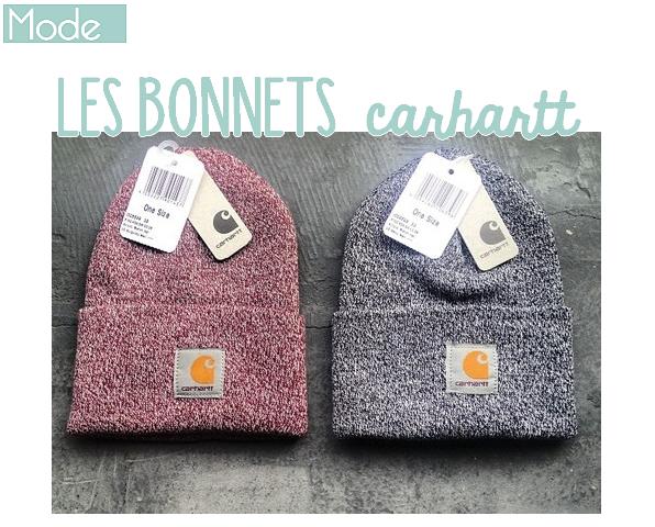 Bonnets Carhartt !