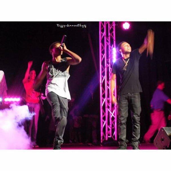 "22 Juin 2013: Diggy a performer à New York pour ""A Call To Peace"" voici quelques photos"